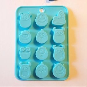 MONSTERS INC SILICONE MOLD